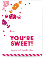 yum yum Classroom Valentine&#039;s Day Cards