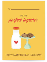 Milk &amp; Cookies Classroom Valentine&#039;s Day Cards