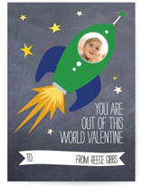 Rocket Love Classroom Valentine's Day Cards
