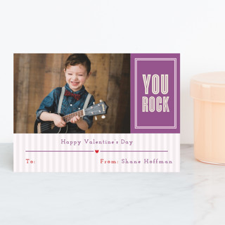 You Rock Classroom Valentine's Day Cards