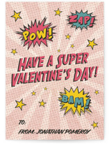 superhero Classroom Valentine's Day Cards