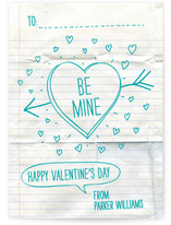 Handwritten Love Note Classroom Valentine's Day Cards