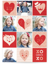 Happy Hearts Classroom Valentine&#039;s Day Cards
