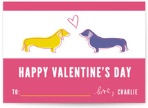 Puppy Love Classroom Valentine&#039;s Day Cards