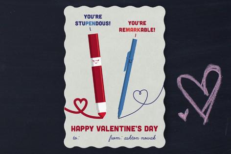 The Write Stuff Classroom Valentine's Cards