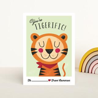 Tigerific Classroom Valentine's Cards