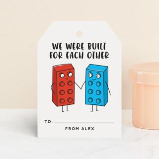 Lego Blocks Classroom Valentine's Cards