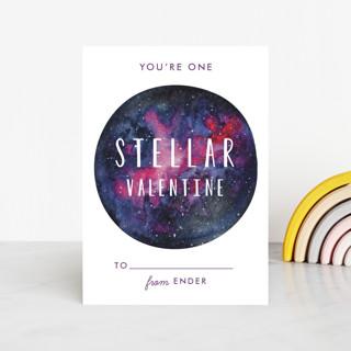 stellar valentine Classroom Valentine's Cards