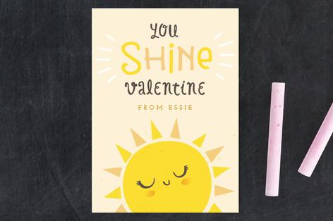 You Shine Classroom Valentine's Cards
