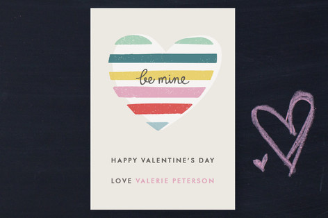 Layered Heart Classroom Valentine's Day Cards