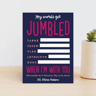 Jumbled Classroom Valentine's Cards