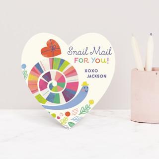 Snail Love Classroom Valentine's Cards