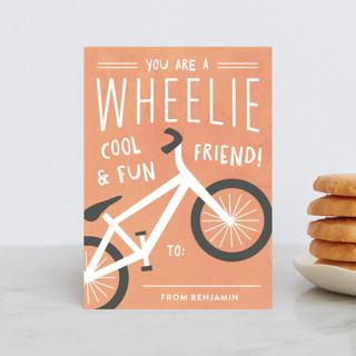 Wheelie Cool Classroom Valentine's Cards