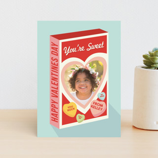 Box Of Candy Classroom Valentine's Cards