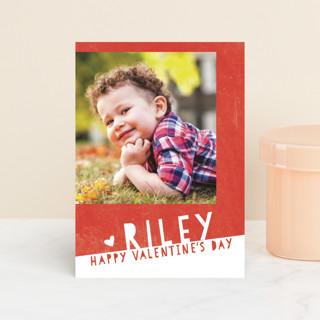 Colorblock Classroom Valentine's Cards