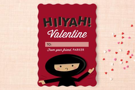 Love Ninja Classroom Valentine's Cards