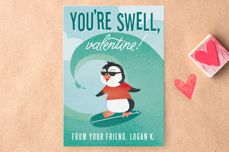 You're Swell Classroom Valentine's Cards