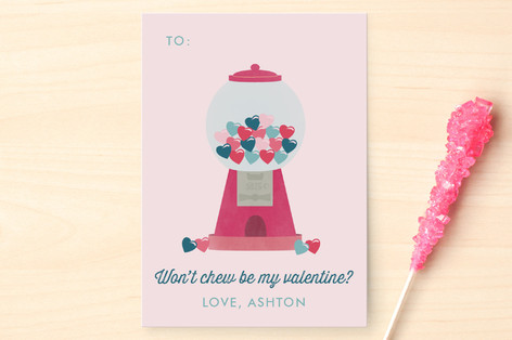 Sweet Bubbly Classroom Valentine's Cards