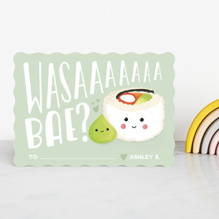Wasaaa Bae Classroom Valentine's Cards