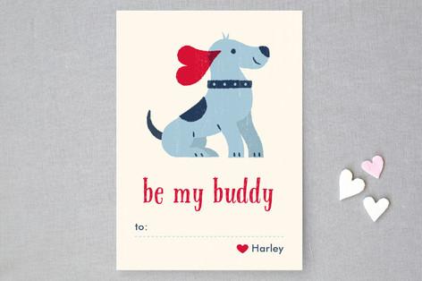 Best Buddy Classroom Valentine's Cards