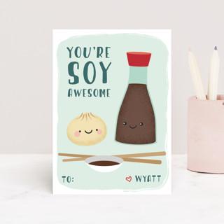 Little Dumpling Classroom Valentine's Cards