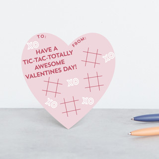 Tic-Tac-Totally Classroom Valentine's Cards