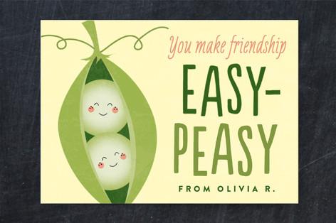 Easy-Peasy Classroom Valentine's Cards