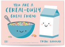 Cereal & Milk by Annie Holmquist