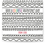 Colorful Valentine's Da... by Holly Whitcomb