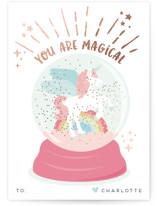 Magic glitter unicorn by peetie design