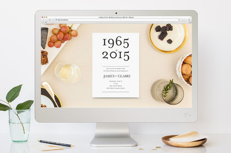 Anniversary Dates Anniversary Party Online Invitations