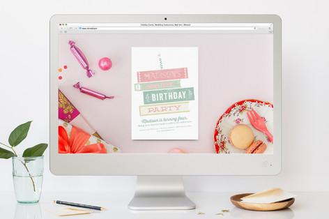 Storybook Birthday Children's Birthday Party Online Invitations