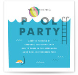 Cool Blue Pool Party