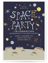 Space Party by Tereza Šašinková Lukášová