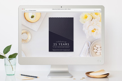 Midnight Modern Professional Event Online Invitations