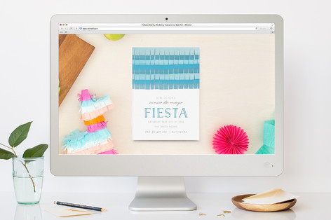 Simple Fiesta Cinco De Mayo Online Invitations