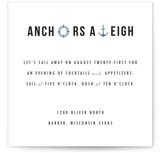 Anchors Aweigh by Liz Warren