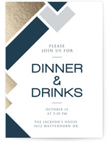 The Pieces Fit Dinner Party Online Invitations