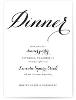 Modern Mint Dinner Party Online Invitations