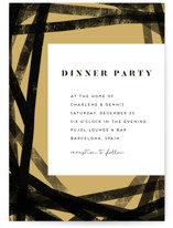 Pretzel Dinner Party Online Invitations