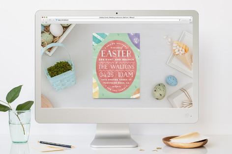 Get Eggcited Easter Online Invitations