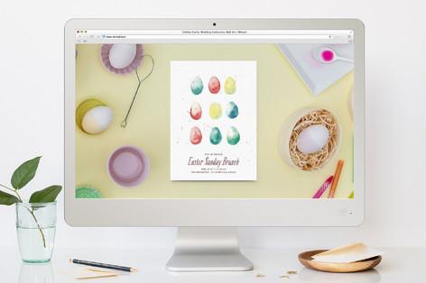 Vintage Easter Brunch Easter Online Invitations