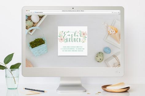 Garden Easter Easter Online Invitations