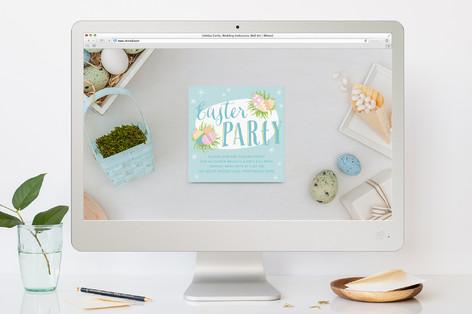 Sorbet Eggs Easter Online Invitations
