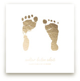 Custom Footprints Foil Art Kids Drawn Art