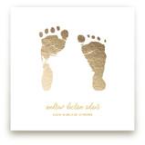 Custom Footprints Foil Art