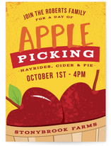 Apple Picking Party