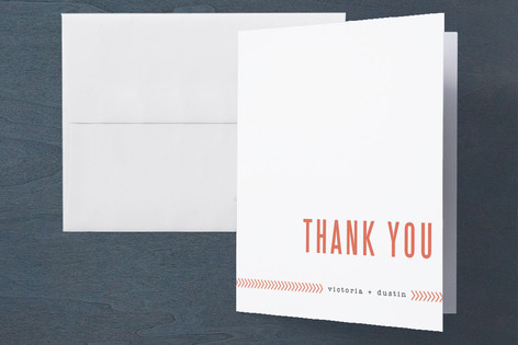 Ticket to Love Farewell Party Thank You Cards