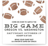Big Game Football Party by Slightly