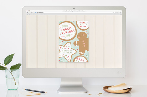 Cookie Catch Holiday Party Online Invitations